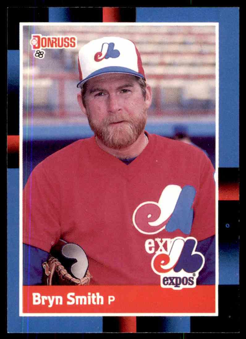 1988 Donruss Baseball Bryn Smith 335 On Kronozio