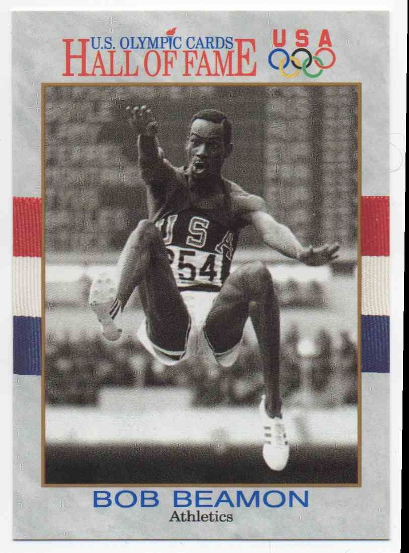 1991 Impel U.S. Olympic Hall Of Fame Bob Beamon #11 card front image