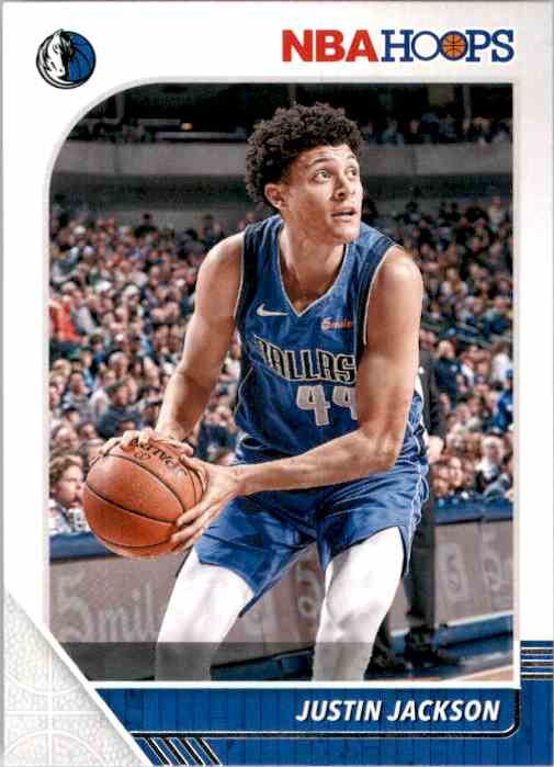 2019-20 Hoops Justin Jackson #44 card front image