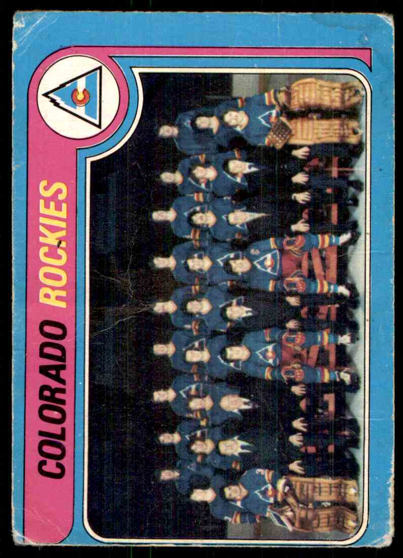 1979-80 O-Pee-Chee Rockies Team #248 card front image