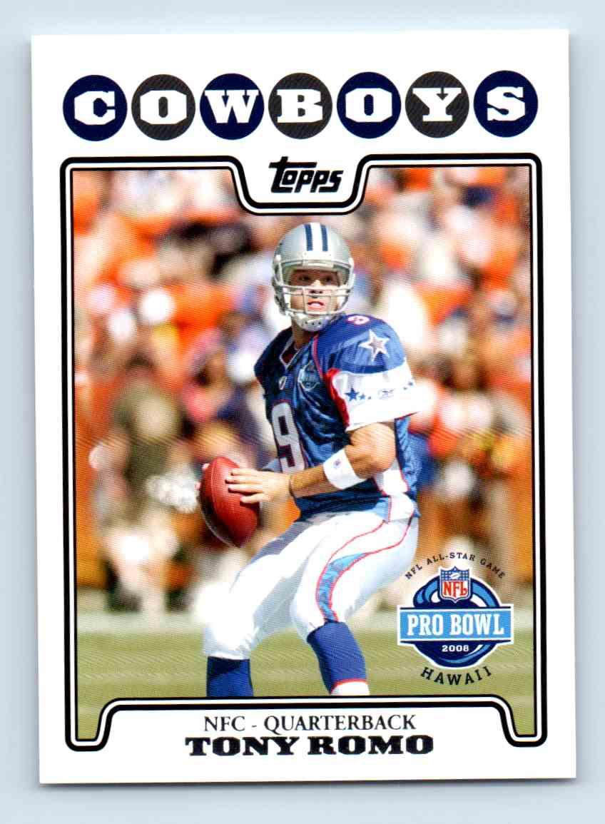 2008-09 Topps Tony Romo #297 card front image