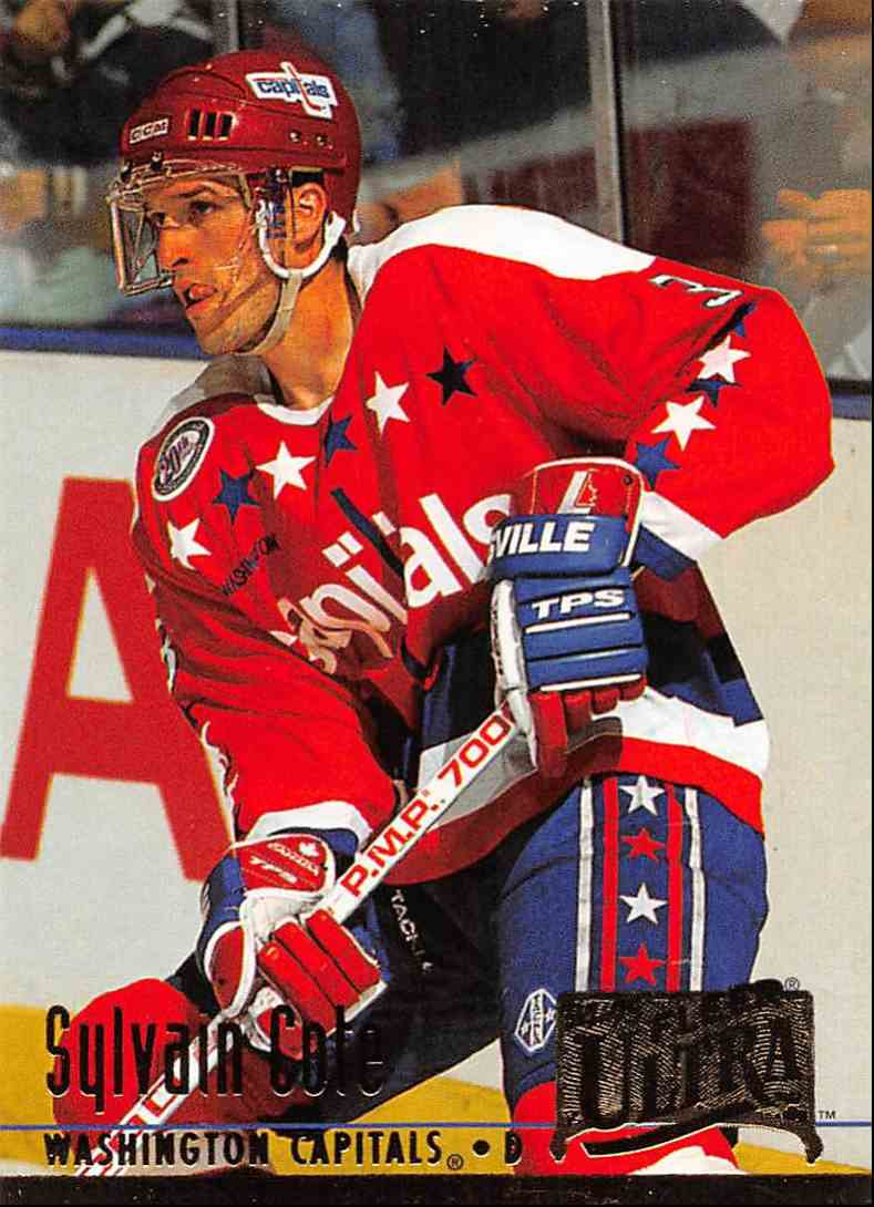 1994-95 Ultra Sylvain Cote #232 card front image