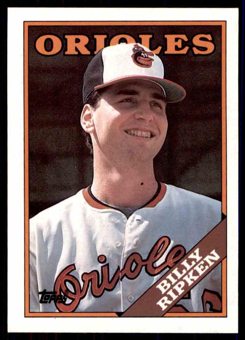 1988 Topps Baseball Billy Ripken 352 On Kronozio