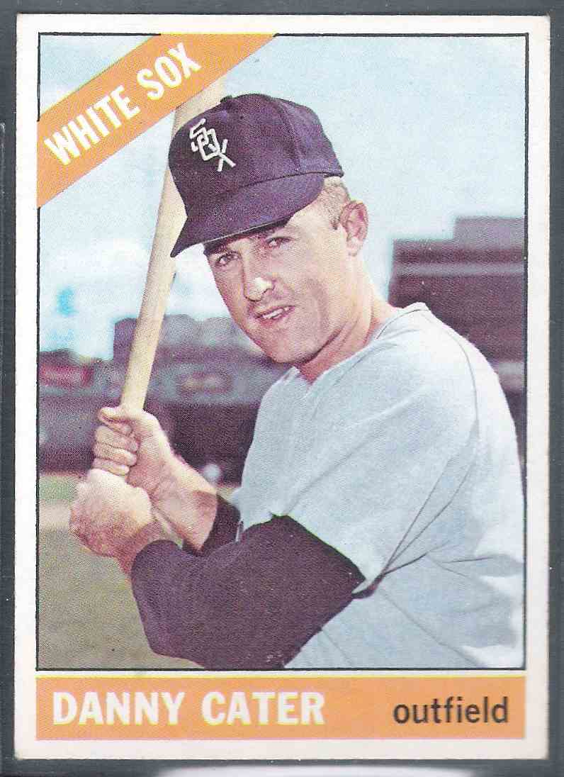 1966 Topps Danny Cater #398 card front image