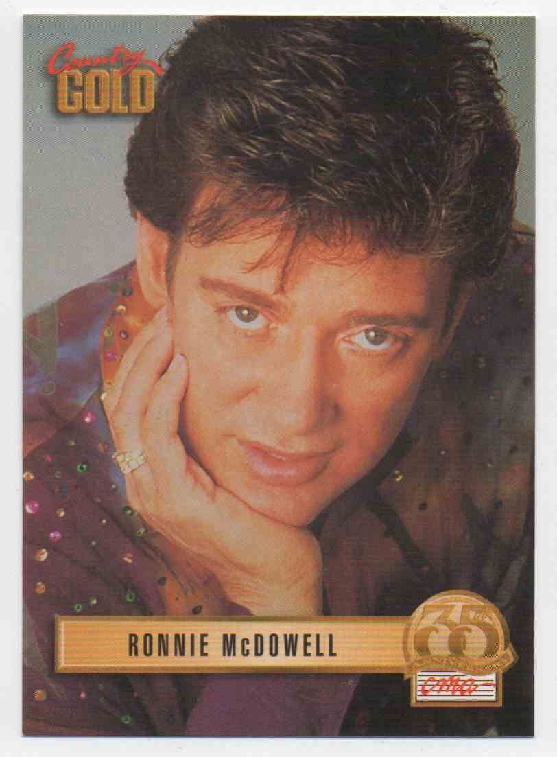1993 Country Gold Ronnie McDowell #77 card front image