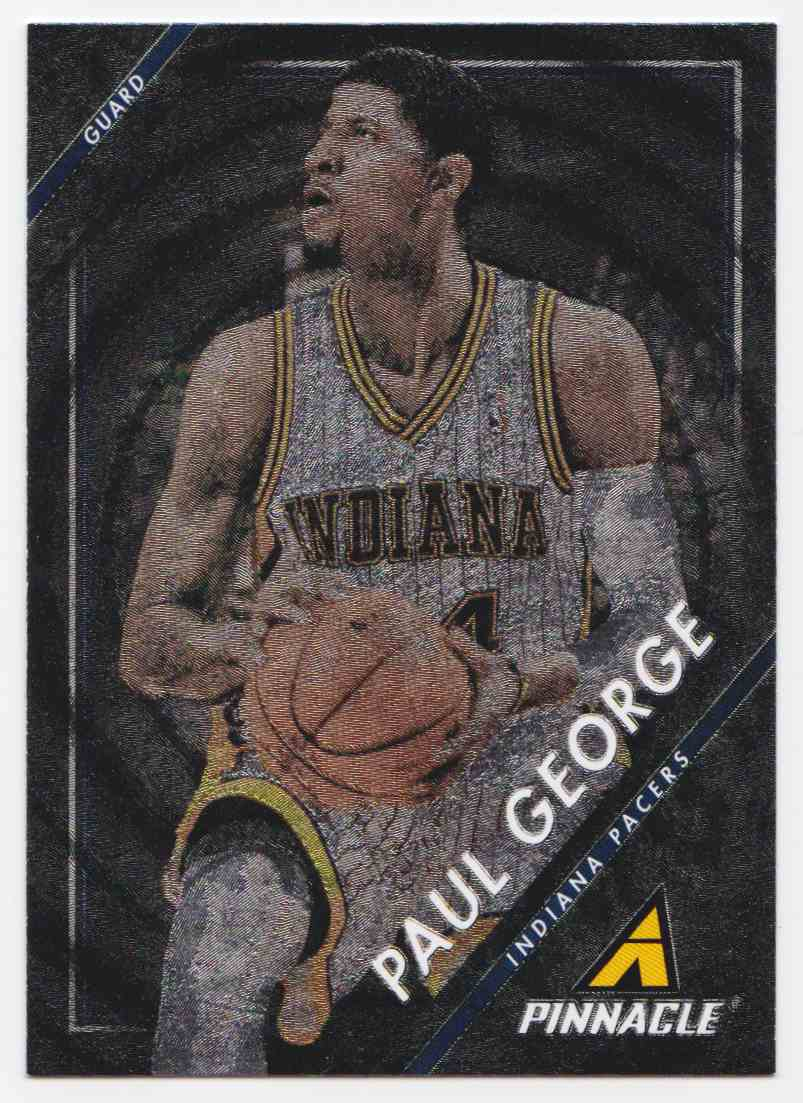 premium selection d01a9 28c69 2013-14 Panini Pinnacle Museum Collection Paul George #233