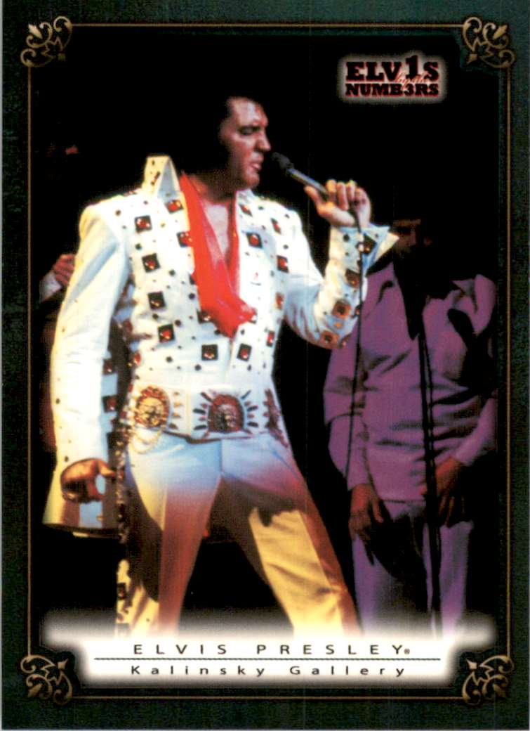 2008 Elvis By The Numbers Kalinsky Gallery #63 card front image
