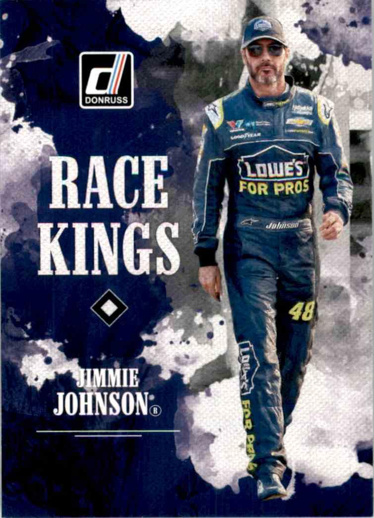 2019 Donruss Jimme Johnson #1 card front image