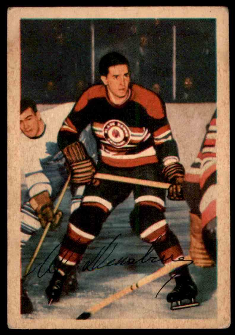 1953-54 Parkhurst Al Dewsbury #78 card front image