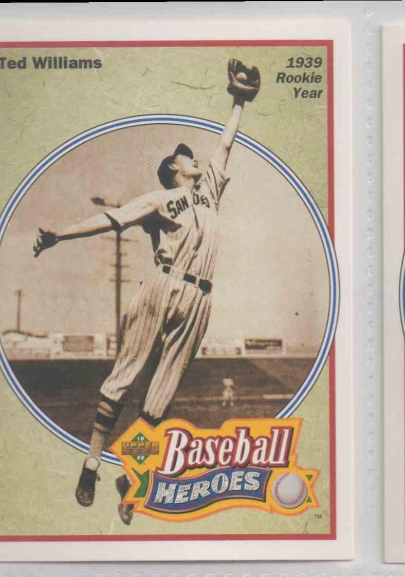 1992 Upper Deck Williams Heroes Baseball Heroes Ted