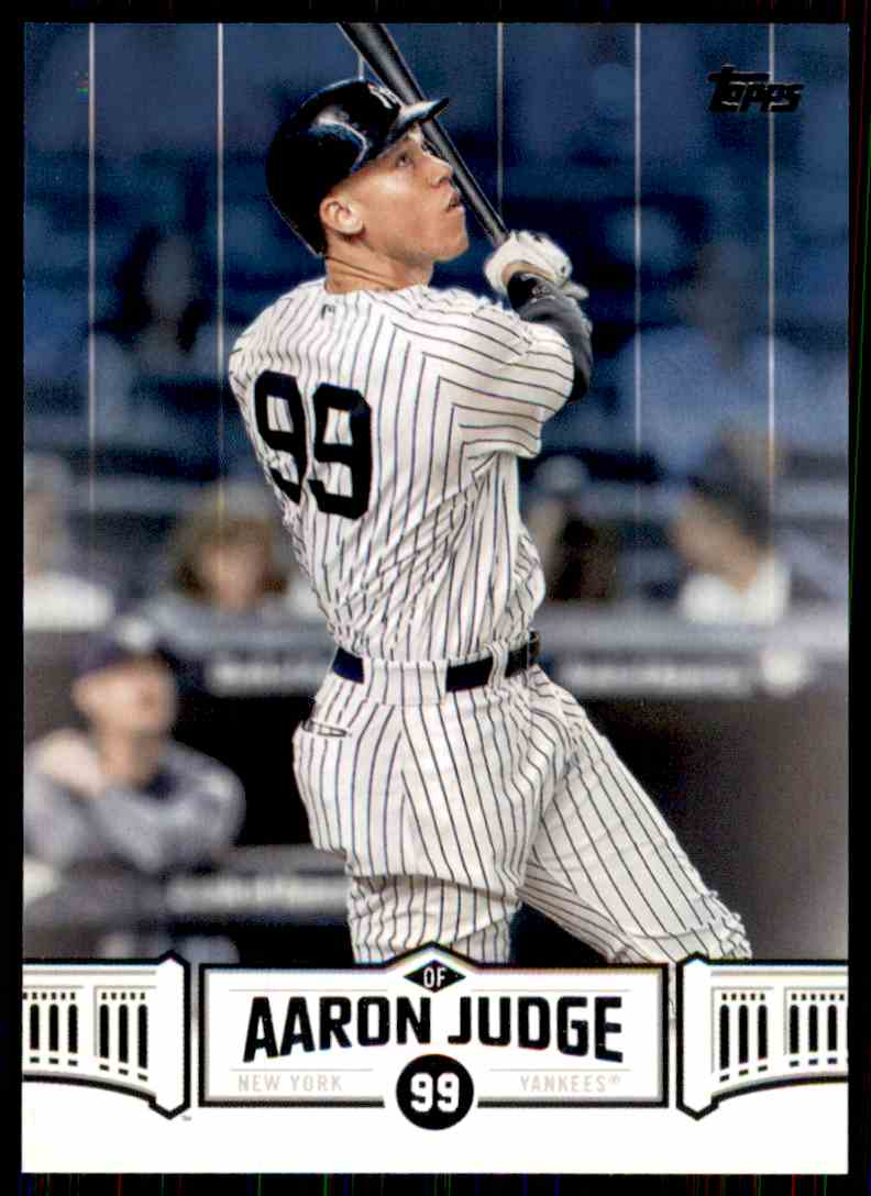 2018 Topps Aaron Judge #AJ-23 card front image