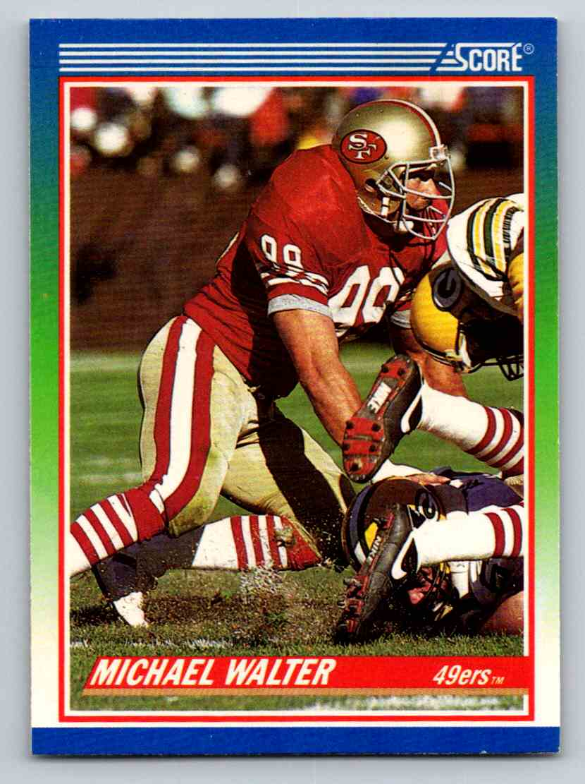 1990 Score Michael Walter #335 card front image