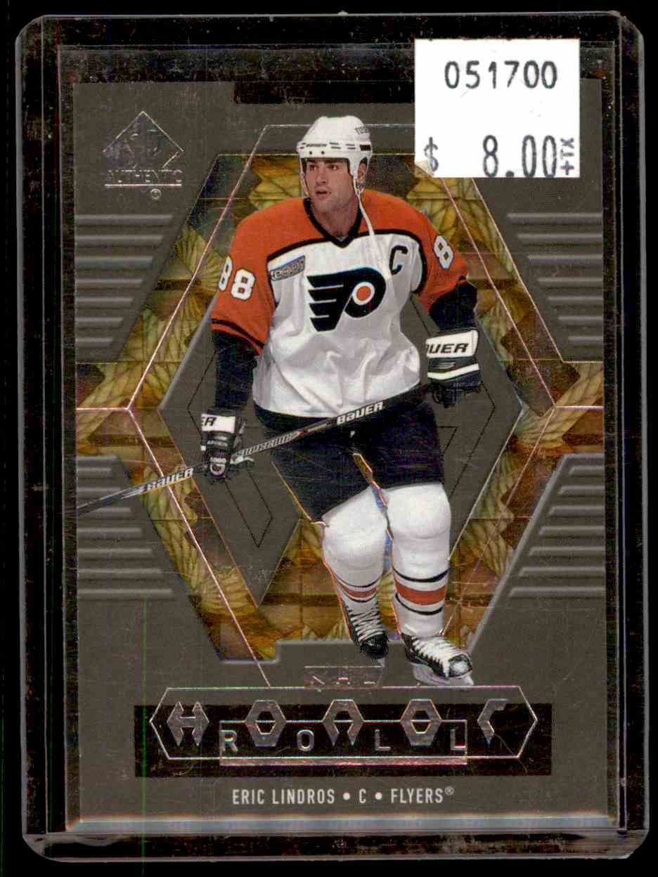 1999-00 SP Authentic Honor Roll Eric Lindros #HR5 card front image