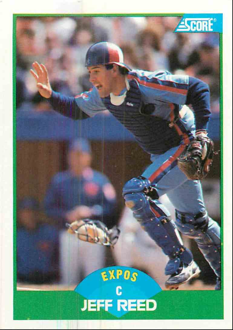 1989 Score Jeff Reed #99 card front image