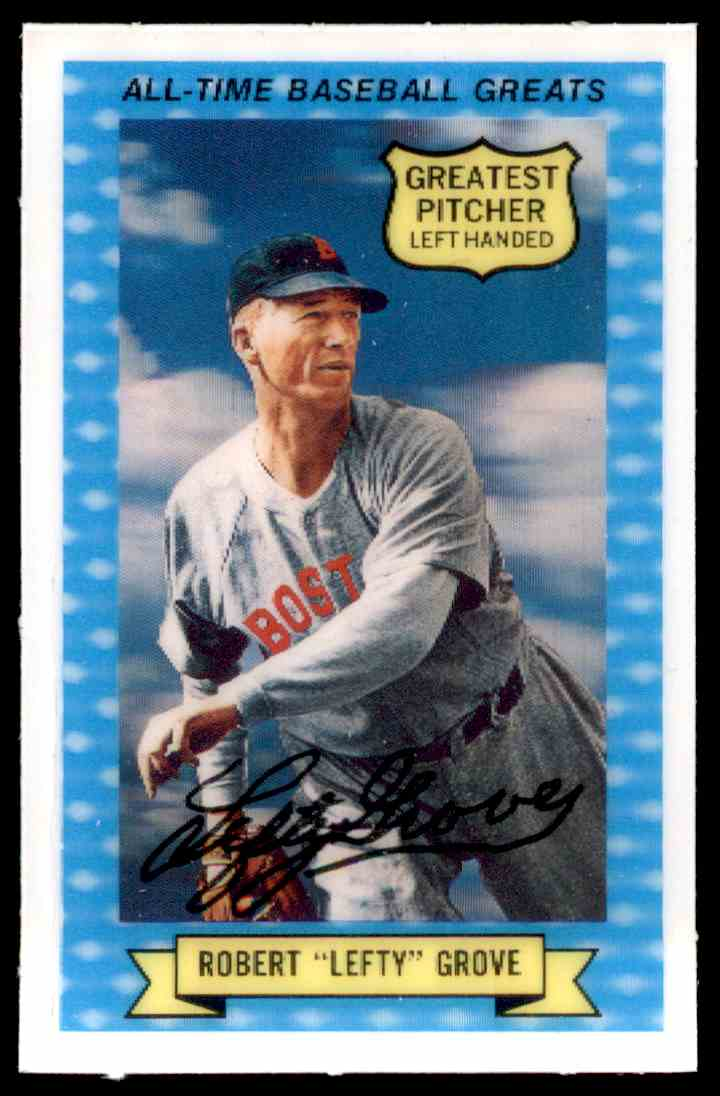 1970 Rold Gold All Time Baseball Greats Robert Quotleftyquot