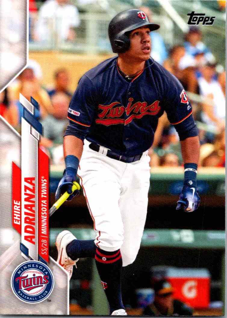 2020 Topps Series Two Ehire Adrianza #690 card front image