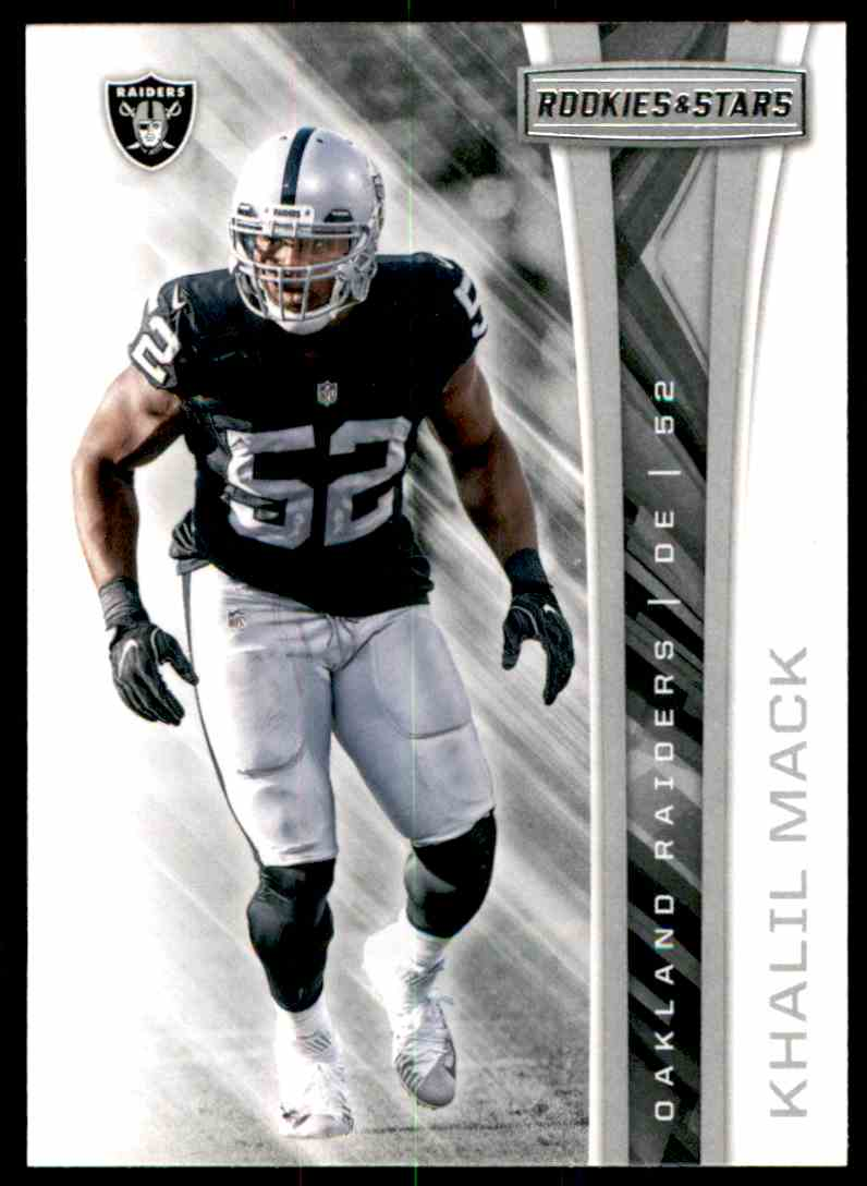 2017 Rookies And Stars Khalil Mack #5 card front image