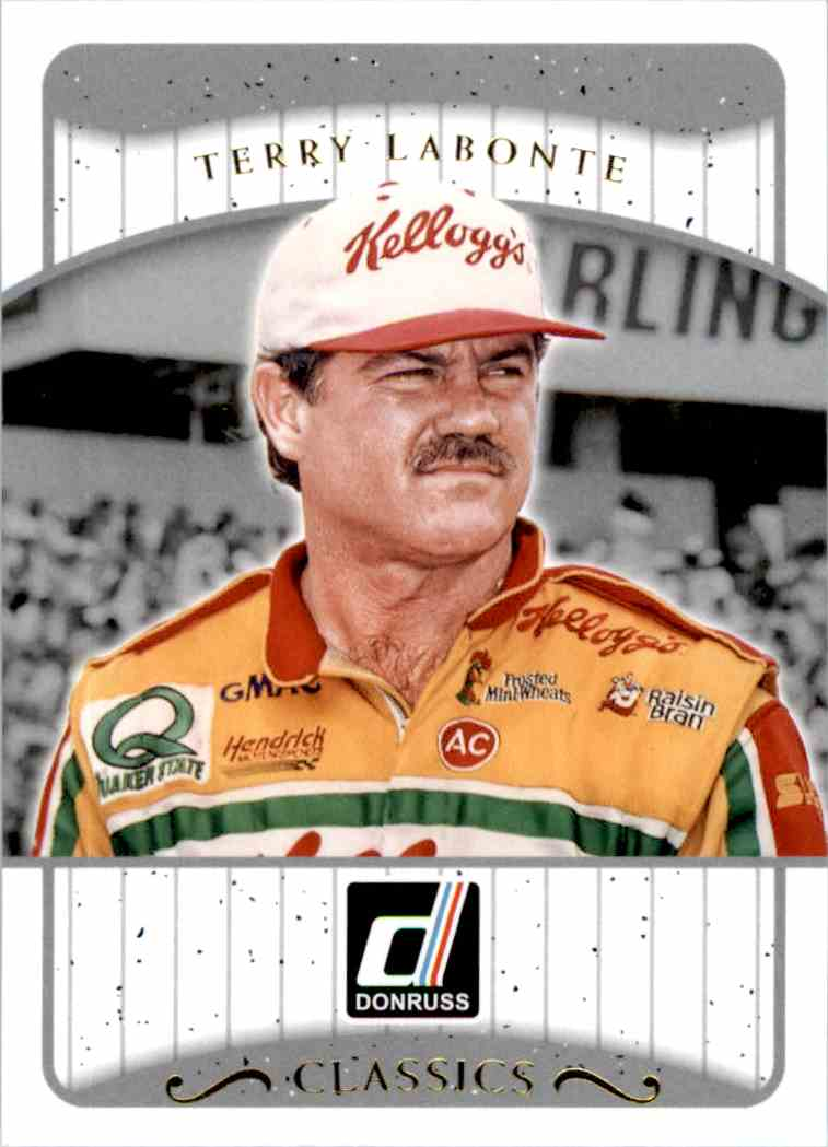 2017 Panini Donruss Racing Terry Labonte #C11 card front image