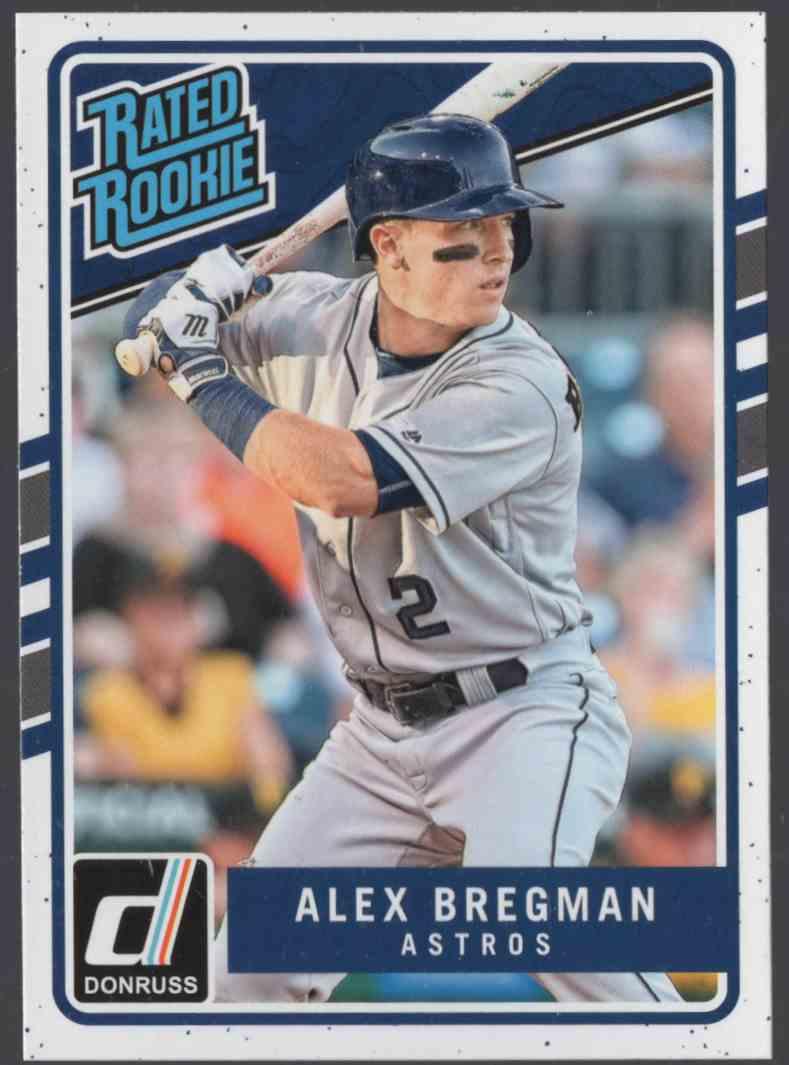 2017 Donruss Alex Bregman Rr #43 card front image