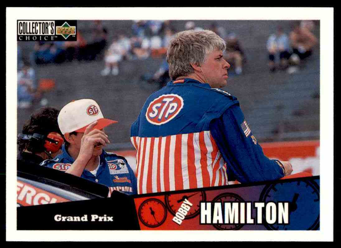 1996 Upper Deck Bobby Hamilton #14 card front image