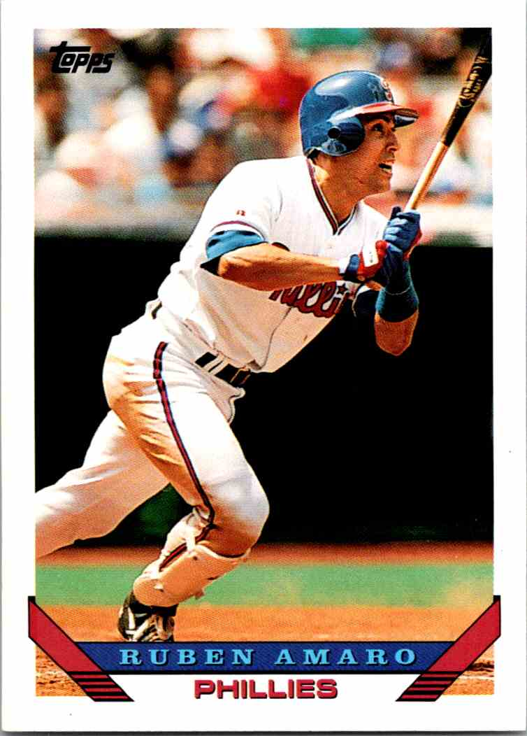 1993 Topps MLB Ruben Amaro #43 card front image