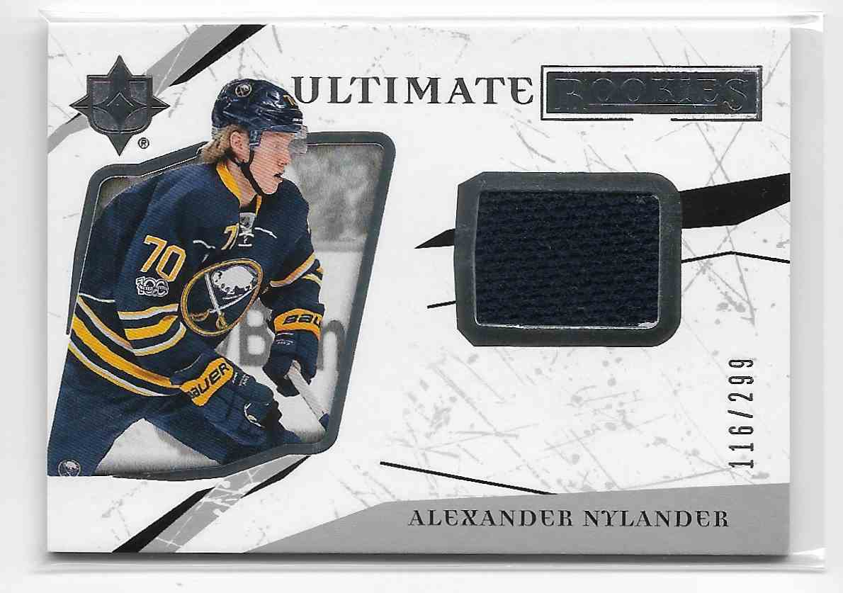 2017-18 Upper Deck Ultimate Alexander Nylander #97 card front image