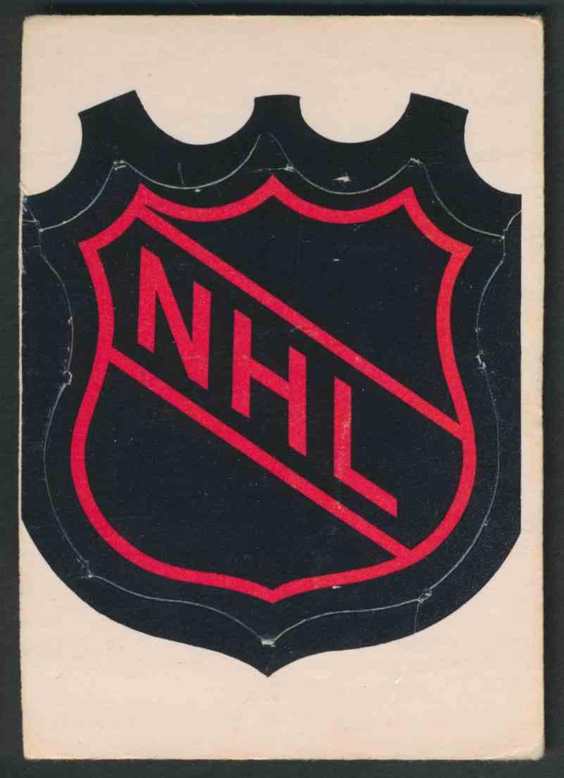 1972-73 O-Pee-Chee NHL Logo card front image