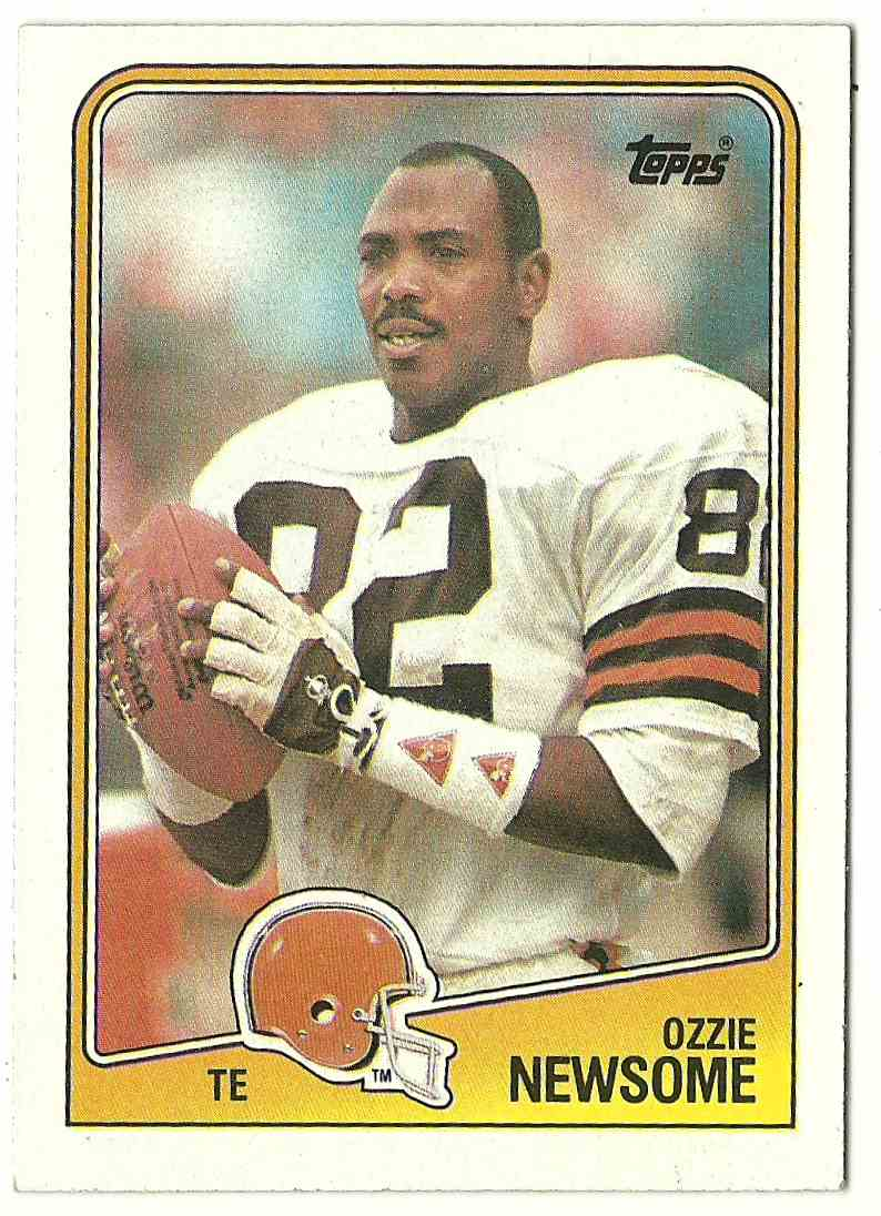 1988 Topps Ozzie Newsome #92 card front image