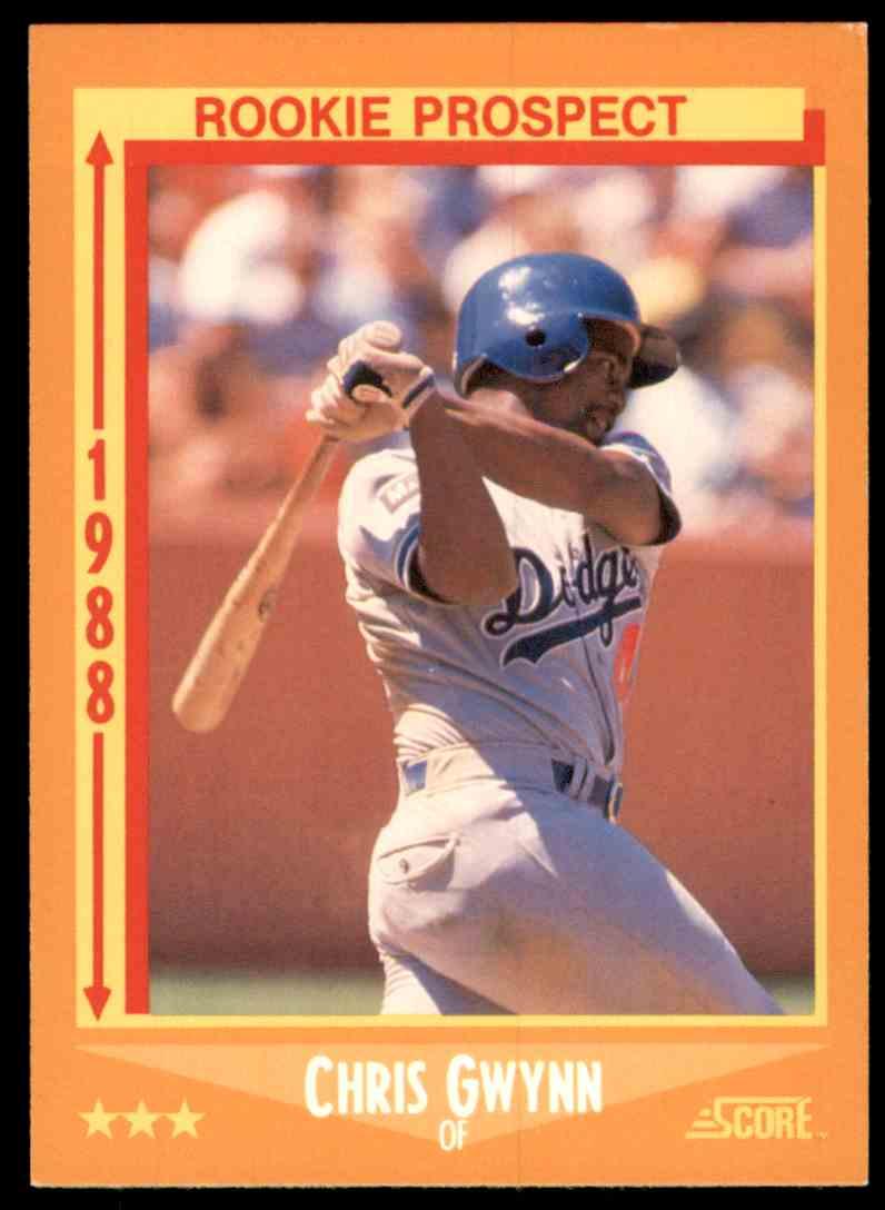 1988 Score Chris Gwynn #640 card front image