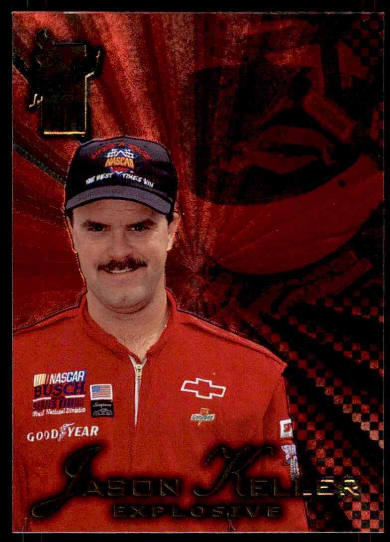 1998 Press Pass Vip Jason Keller #30 card front image