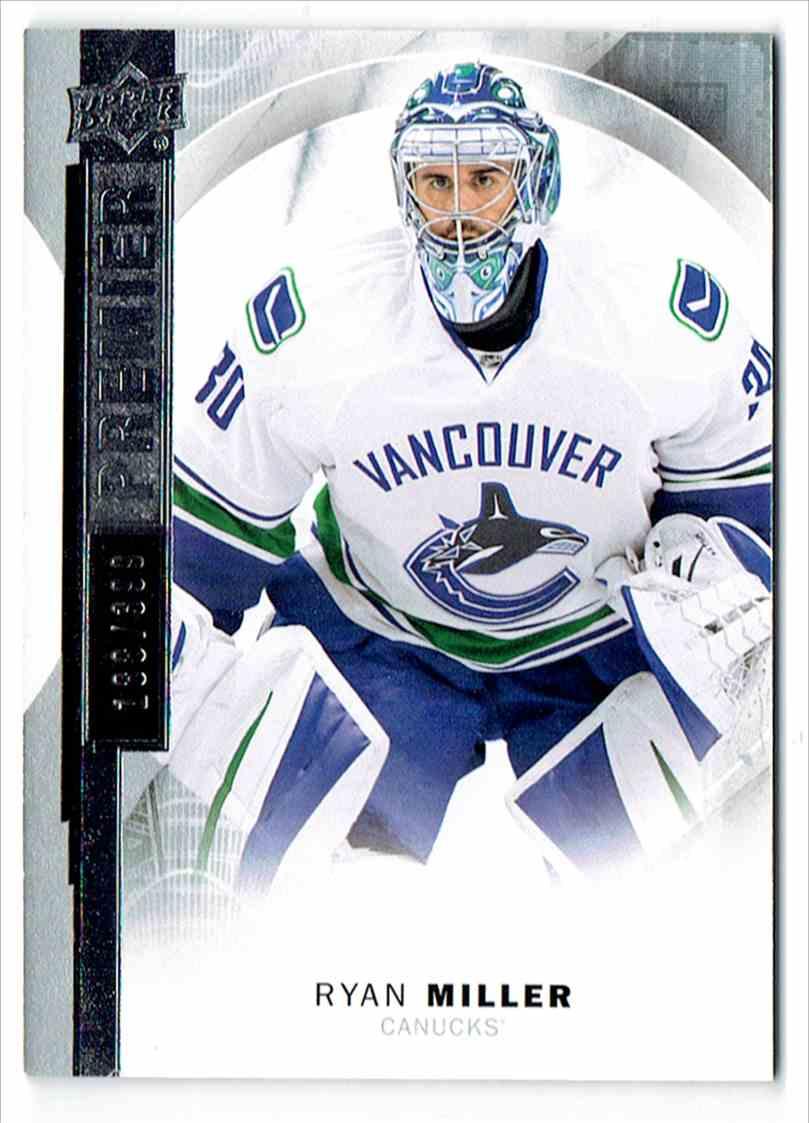 2015-16 Upper Deck Premier Ryan Miller #37 card front image
