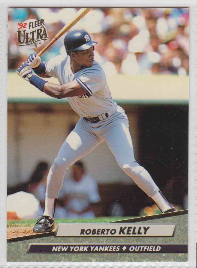 1992 Fleer Ultra Roberto Kelly #103 card front image