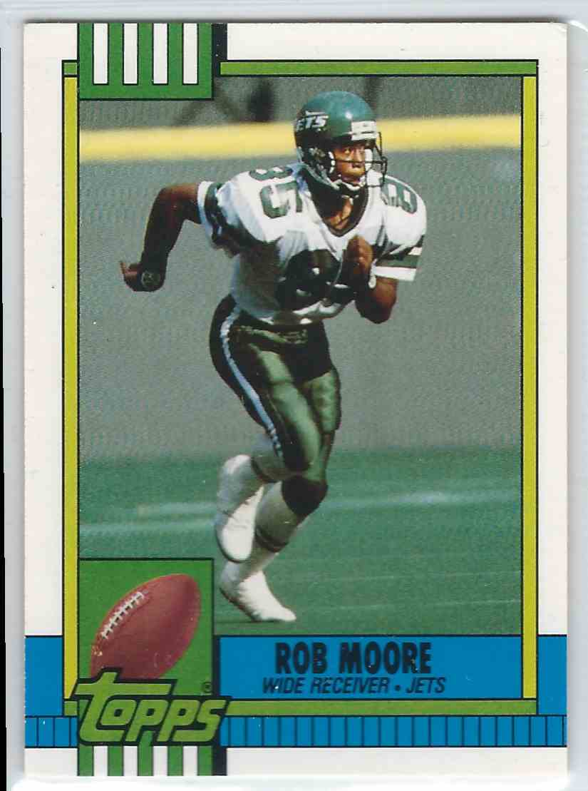 1990 Topps Traded Rob Moore #31T card front image