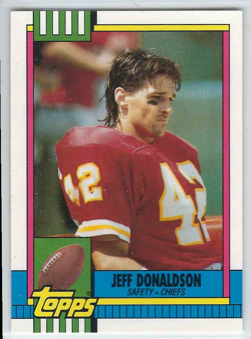 1990 Topps Traded Jewff Donaldson #79T card front image