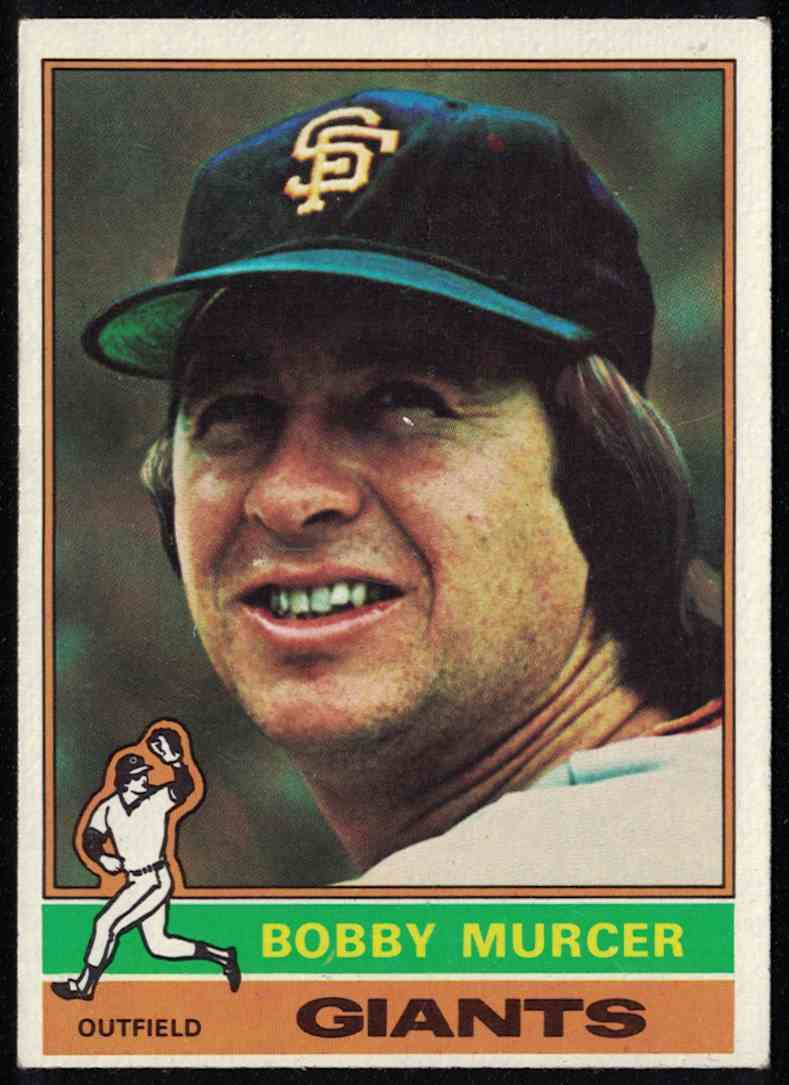 1976 Topps Bobby Murcer NM #470 card front image