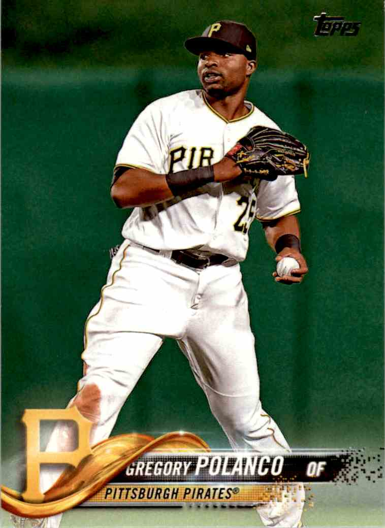 2018 Topps Gregory Polanco #201 card front image