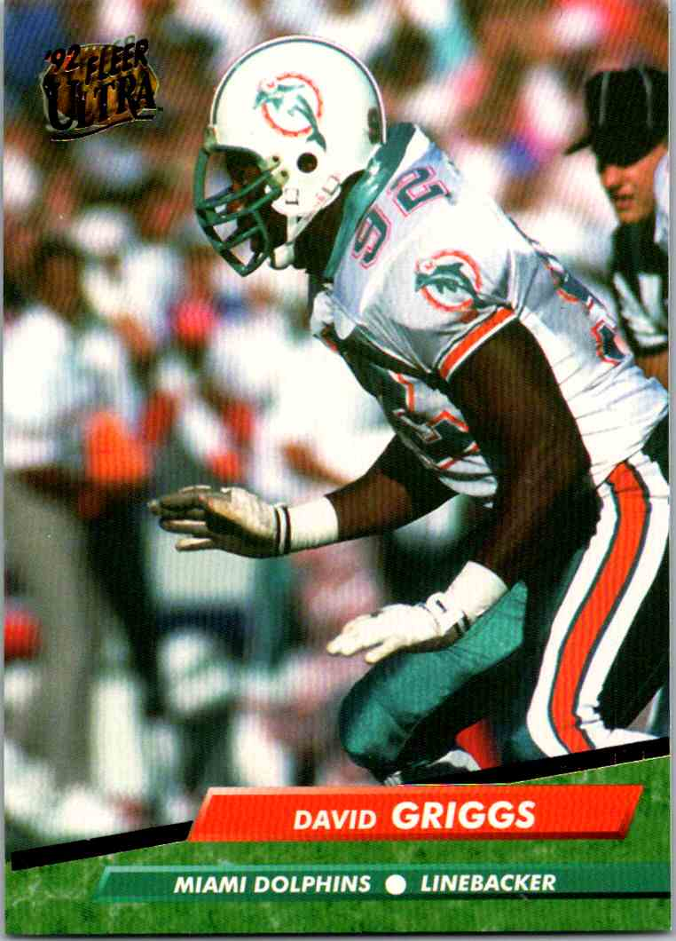 1992 Fleer Ultra David Griggs #221 card front image