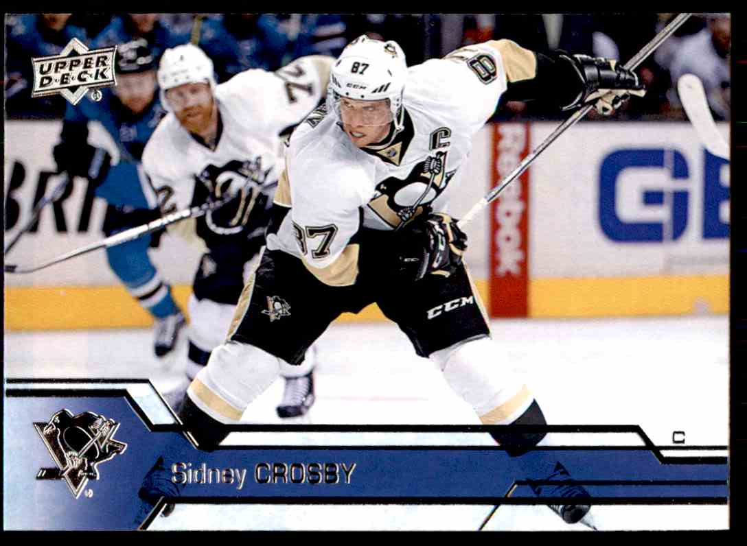 2016-17 Upper Deck Sidney Crosby #146 card front image
