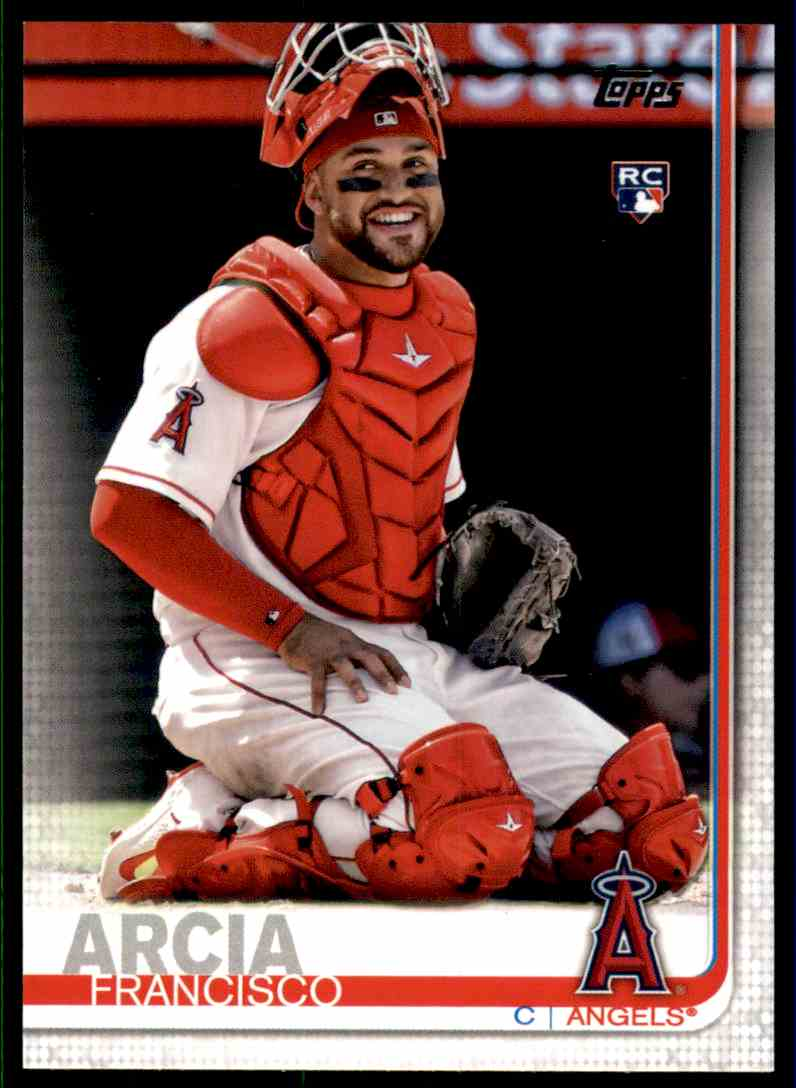 2019 Topps Francisco Arcia #78 card front image