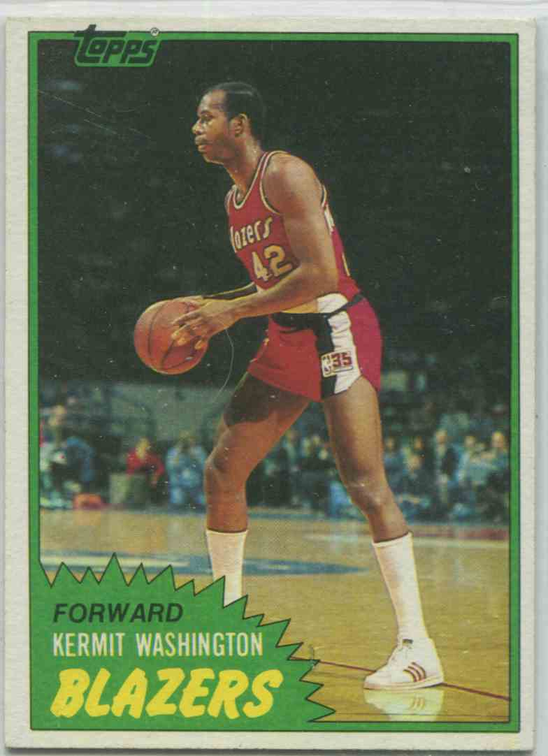 3 Kermit Washington trading cards for sale