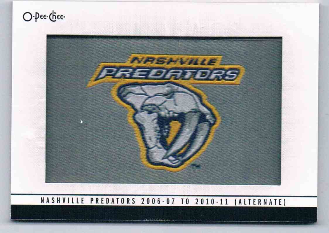 2013-14 Upper Deck O-Pee-CheeTeam Logo Patches 2006-07 To 2010-11 (Alternate) #125 card front image