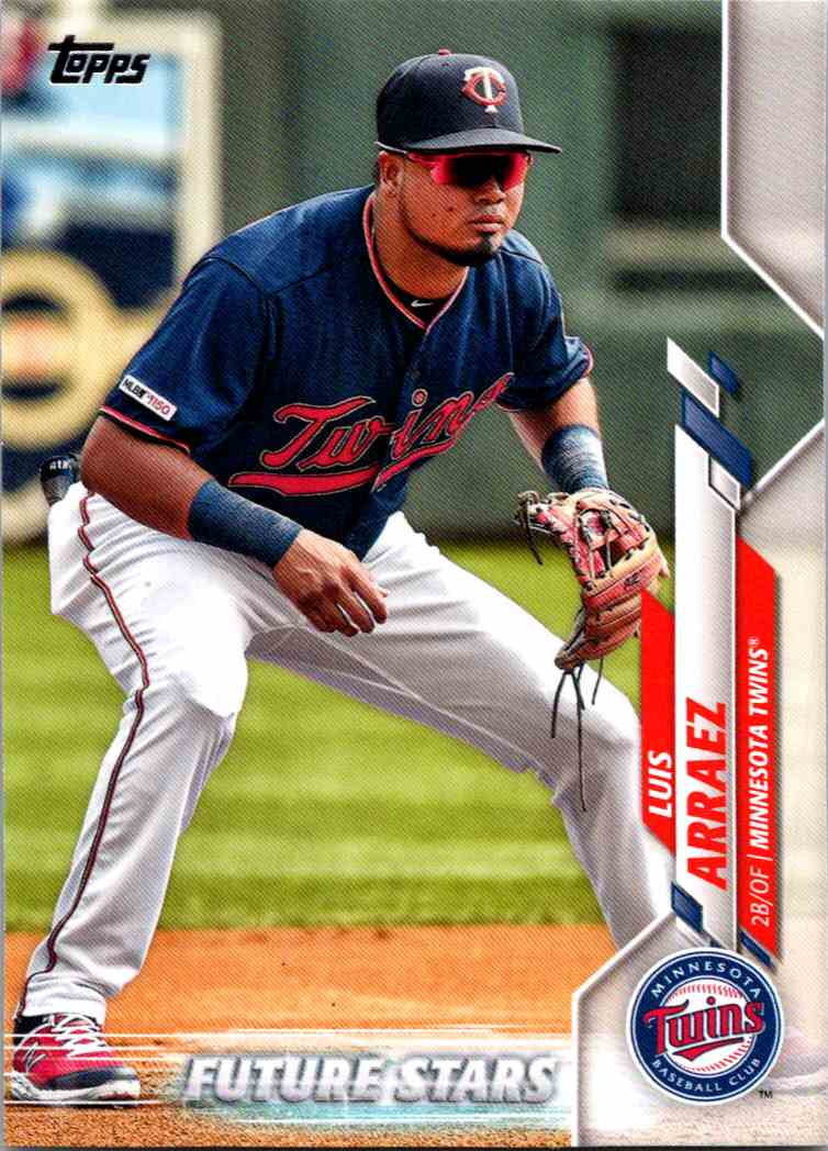 2020 Topps Series Two Luis Aaraez #612 card front image