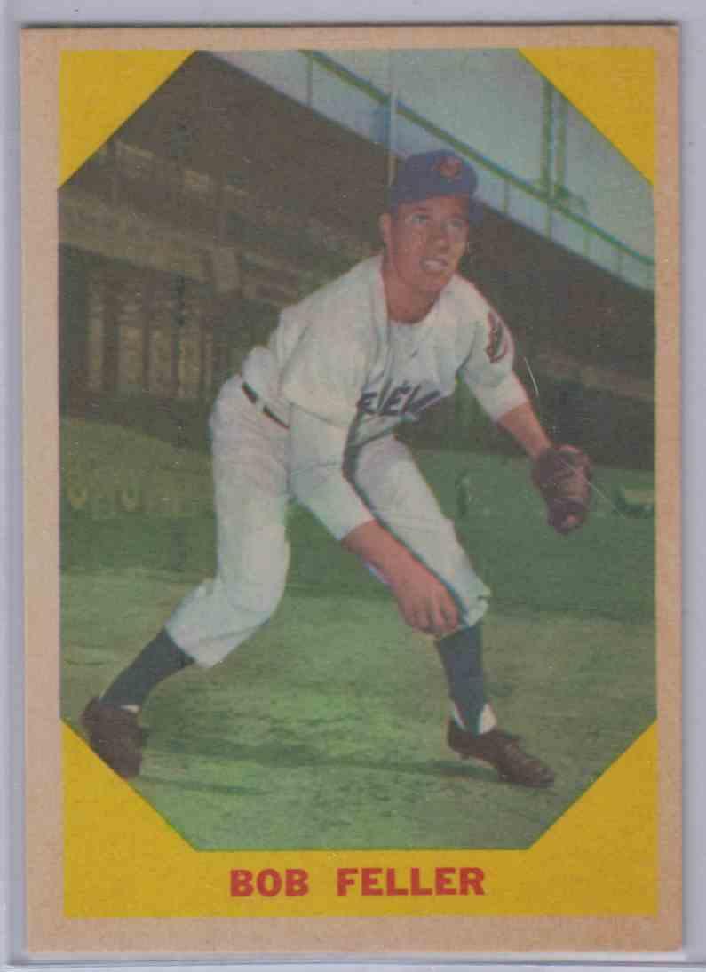 1960 Fleer Bob Feller #26 card front image