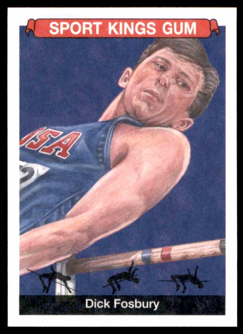 2018 Sportkings Black Back Retail Dick Fosbury #45 card front image
