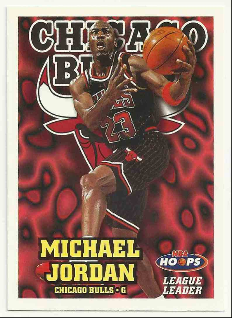 1997-98 Hoops Michael Jordan #1 card front image