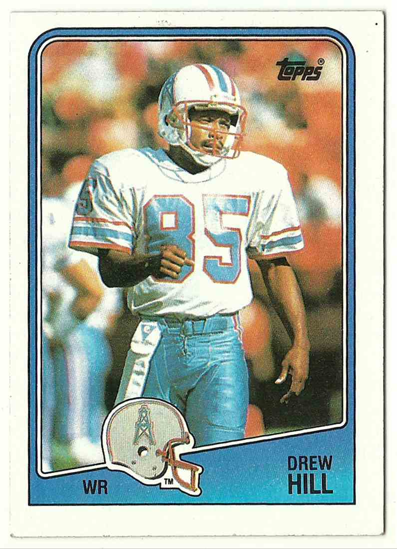 1988 Topps Drew Hill #106 card front image