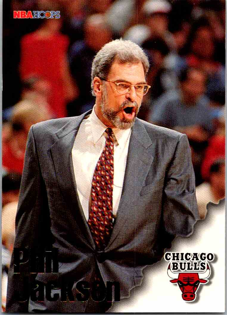 1997-98 NBA Hoops Phil Jackson #252 card front image