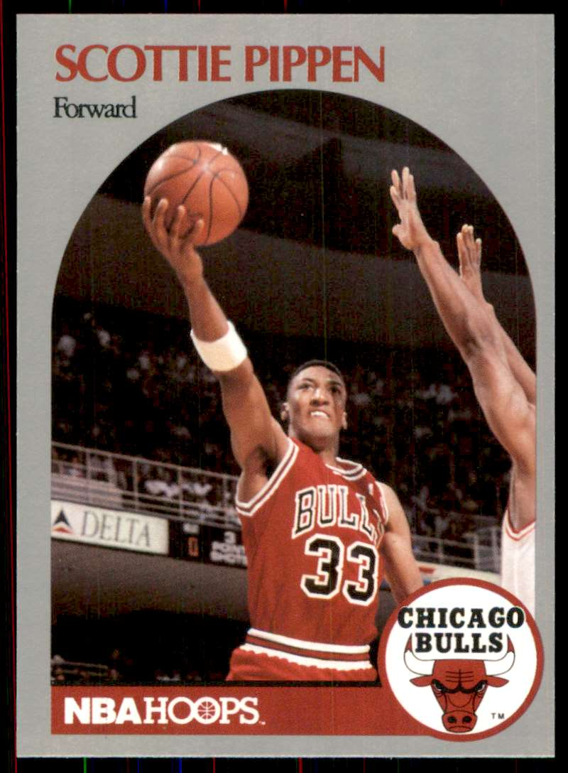 1990-91 Hoops Scottie Pippen #69 card front image