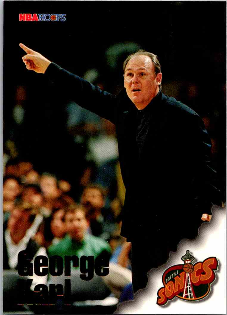 1997-98 NBA Hoops George Karl #273 card front image