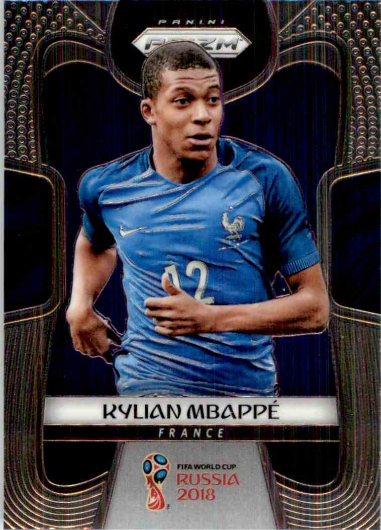 2018 Panini Prizm World Cup Kylian Mbappe #80 card front image